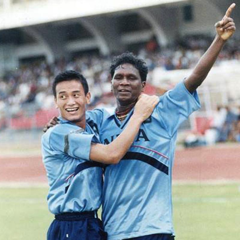 Bhutia and Vijayan